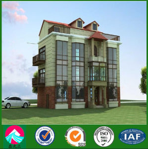 High Quality New Type Steel Structure Villa pictures & photos