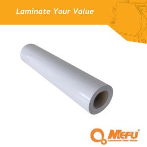 Mefu Semi Matt Cold Lamination Clear PVC Film pictures & photos