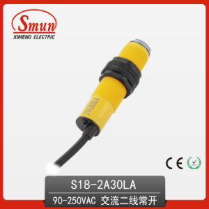 Infrared Photoelectric Switch Diffused Reflection Type Two-Wires AC 30cm Sensor pictures & photos
