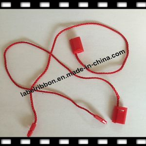 Color Garment String Plastic Hang Tag (ST008) pictures & photos