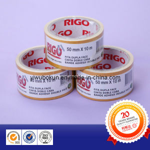 Clear Polyester Pet Double Sided Tape pictures & photos