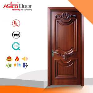 Timber/Wood /Solid Meranti Door/Solid Interior Wooden Door pictures & photos