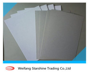 White Coated Duplex Cardboard with Grey Back