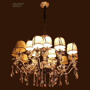 Chandelier Light with Crystal Decoration 18 Arms pictures & photos