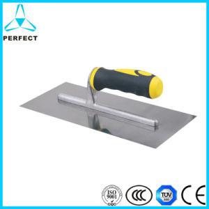 Carbon Steel Double Color Plastic Handle Float Plastering Trowel pictures & photos