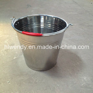 Metal Milking Bucket for Transporting Milk pictures & photos
