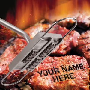 BBQ Branding Iron with Changeable