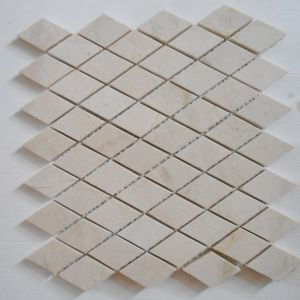 Cheap Beige Rhombus Mable Tiles for Bathroom and Kitchen pictures & photos