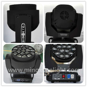 New 19*15W LED Bee Eye Moving Beam Light with Zoom pictures & photos