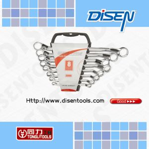 8-Piece Plastic Case Double Ring Offset Spanner pictures & photos