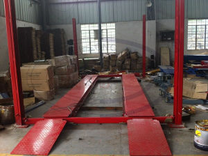 4 Post Parking Lift Wld-Qjy432p for Sale pictures & photos