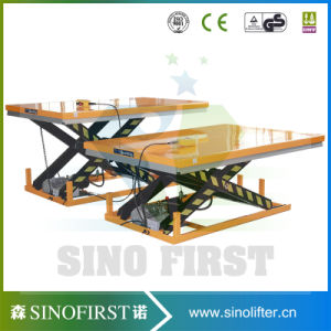 Low Profile Fixed Roller Conveyor Scissor Lift Platform Lifter pictures & photos