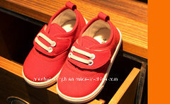 Canvas Baby Shoes for Spring and Autumn Season pictures & photos