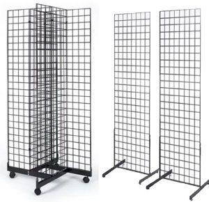 Floor Standing Gridwall Display