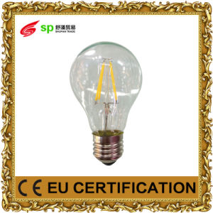 E27 Filament 4W/6W/8W LED Bulb Housing with Lighting Light