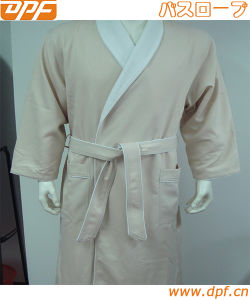 Luxury SPA Robe - Microfiber with Cotton Terry Lining pictures & photos