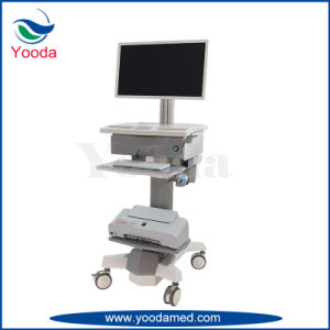 Steel Plate and ABS Cover Hospital Medication Workstation pictures & photos