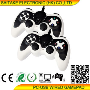 PC Double Vibration Gamepad Stk-9026 pictures & photos