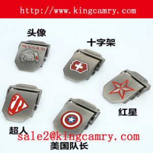 Logo Belt Buckle Metal Army Belt Buckle Fashion Western Buckle Army Buckle Man′s Buckle Auto Buckle pictures & photos