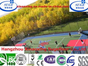 Against UV Radiation Interlocking Suspended Sports Flooring pictures & photos