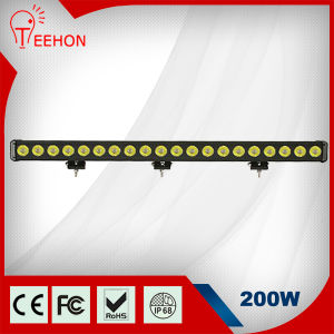 Top Selling CREE 200W Single Row LED Light Bars pictures & photos