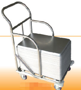 Stainless Steel Trolley with Wheels (SN1980) pictures & photos