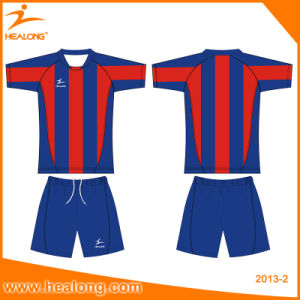 Healong Soccer Wear Wholesale Cheap Promotion Best 2017 Custom Quality Soccer Jersey pictures & photos