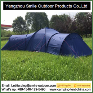 5 Room Luxury Waterproof 12-Person Large Camping Family Tent pictures & photos