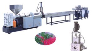 High-Capacity Multi-Segment Single Screw Recycling and Color Mixing Repelletizing Machine pictures & photos