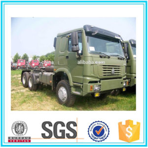 Military Quality Sinotruk HOWO 6X6 All Wheel Drive Tractor Truck pictures & photos