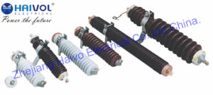 Porcelain Housed Metal-Oxide Surge Arrester (Y10W-66) pictures & photos