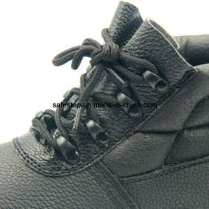 High Cut Composit Toe Insulation Safety Shoes with Plastic Buckles pictures & photos