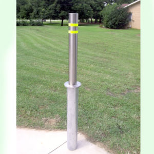 Manual Retractable Bollard Ss-pH02 pictures & photos