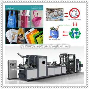All in One Non Woven Bag Machine pictures & photos