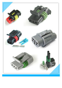Male Female Auto Waterproof Connector with Terminals pictures & photos