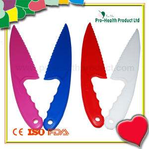 Disposable Colorful Plastic Cake Knife (PH7021) pictures & photos