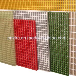 FRP / GRP Concave Grating Drain Grating Floor Grating pictures & photos