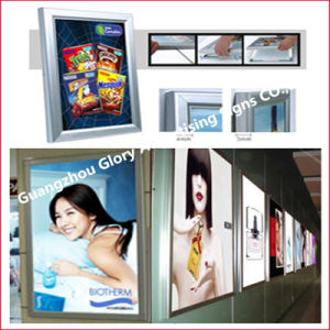 Aluminum Light Box Wall-Mounted Snap Frames Poster Frame pictures & photos