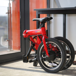 36V Lithium Battery Electric Bike 16 Inch Intelligent Folding Ebike pictures & photos