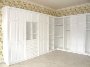 Walk-in-Closet / Wardrobe / White Color Wardrobe (PR-L24) pictures & photos
