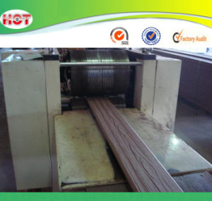 PVC/PE Wood Plastic WPC Floor Board/Slab Extruder/Making Machines pictures & photos