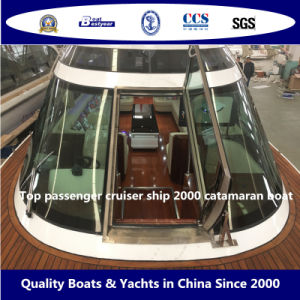 Top Passenger Cruiser Ship 2000 Catamaran Boat pictures & photos