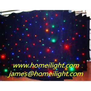 RGB 3in1 SMD Super Brighness LED Star Curtain with DMX512 Controller for Wedding, DJ Backdrops, Ceiling pictures & photos
