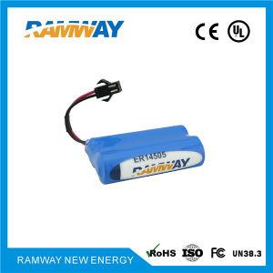 7.2V 2700mAh 2er14505 Battery Packs for Ultrasonic Level Indicators pictures & photos
