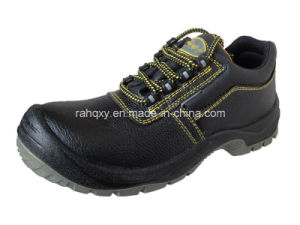 Full Plastic Buckles Low-Cut Safety Shoes (HQ03054) pictures & photos