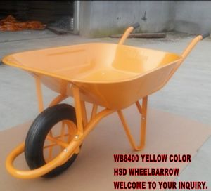 Wb6400 Multipurpose Heavy Duty Wheel Barrow, France Model Brouette with Cheap Price