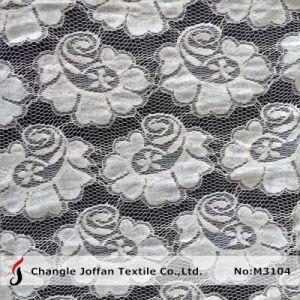Heavy Cotton Net Lace Fabric (M3104) pictures & photos