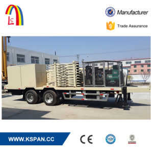 New Design Trailer Mounted Self Support Roofing System Roll Forming Machine 240 pictures & photos