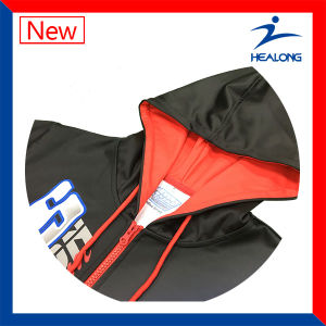 Sublimation Sportswear with Zipper Mens Winter Hoodies Sweaters pictures & photos