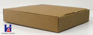 Environmental Plain Customized Pizza Brown Carton Paper Packaging Packing Box pictures & photos
